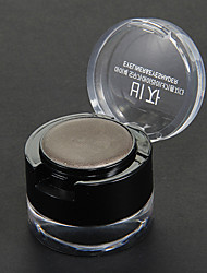 1Pcs Eyeshadow With 1Pcs Gel Eyeliner