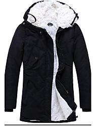 grand manteau col et cachemire pour hommes Hengyi