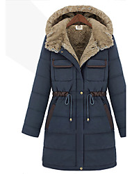 luoweiqiguli europese warme jas (donker blauw)
