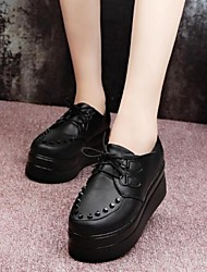 Women's  Shoes Smandy  Round Toe Platform Oxfords Shoes More Colors available