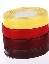 2 Cm of Snow Yarn Ribbon With DIY Materials Gift Box Parts