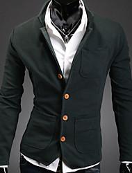 maillots de couleur de contraste de Sheah les blazers de zlou hommes
