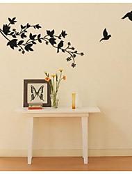 jiubai ™ branche d'arbre et les oiseaux sticker mural Sticker mural