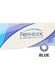Ciba FreshLook 1 Day Blue (10 lens / box)(Zero Degree)