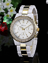 Women's Watch Fashion Diamante Gold Dial  Cool Watches Unique Watches