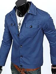 la mode veste outillage style coréen marée veste décontractée veste masculine des hommes