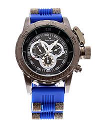 v6 Shaopeng Halei homens Hot Vender esporte quartzo preto de aço inoxidável relógio de pulso waterpoof v60090