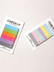 design coloré arc en ciel scrapbooking notes autocollantes