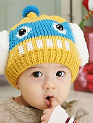 Kid's Fashion Joker Lovely Warm Add Wool Robot Caps