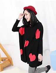 Maternity's Fashion Joker Love Warm Sweater