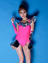 Клубная одежда женские лидер певец бальных танцевальная одежда комбинезон DS