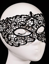 Wedding Décor Hot sales Black Sexy Lady Lace Mask Cutout Eye Mask for Masquerade Party Fancy Dress Costume