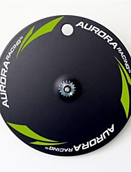 AURORA RACING 700C Disc Carbon Fiber Track Bike Wheels Fixed Gear Single Speed Bicycle Wheelset