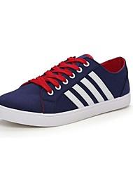 Zapatos de Hombre Casual Tela Sneakers a la Moda Negro/Azul