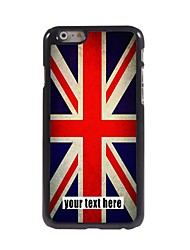 Personalized Case The Union Jack Design Metal Case for iPhone 6 Plus
