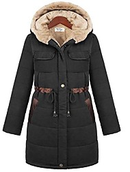 Women's Coats & Jackets , Polyester Casual/Work D&YY