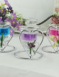Wedding Décor Heart Shape Candle Holder More Colors (1 piece/lot)