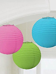 "Wedding Décor 5 PCS 16"" Colorful Decorative Paper Lantern for  Baptism Birthday Party Decoration More Colors"