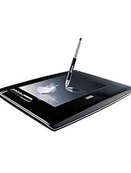 Hanvon maestro del arte + 1209 touch panel digital de la tableta de escritura tablero de dibujo de color gris oscuro