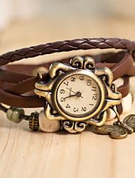 papillon brillant montre pendentif