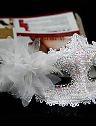 masque plume Halloween mystérieuse de partie de costume (de couleurs assorties)
