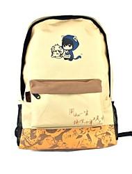 Crônicas dos ladrões mais graves amarelo cosplay schoolbag
