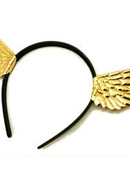 Golden Wings of The Angel Halloween Party Headband