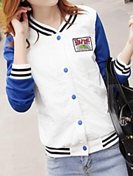 Women's Casual Splicing Slim Jacket