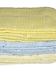 Puraspace®Blanket ,Leno Weave One Pieces Blue Plain Dyed  Hollow Out 120*170cm