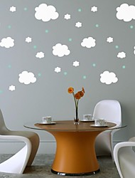 jiubai ™ Cloud Room enfant sticker mural de mur de décoration de décalque