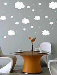 quarto de criança nuvem adesivo de parede decoração da parede decalque jiubai ™