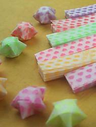 materiais luminosa origami estrela (27 peças / saco)