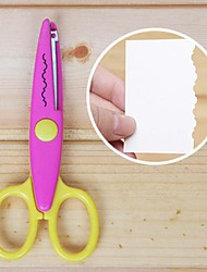 Scrapbooking DIY Photo Lace Scissors(Rose)