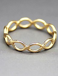 Women's Simple and Elegant Hollow Luck 8 Ring