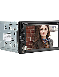 "6,2 ""touch screen motorizada 2 din carro universal dvd player com gps, dvd, ATV, bluetooth, ipod, jogos, câmera frontal"