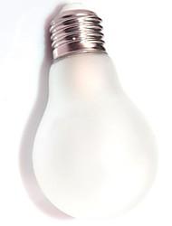 Ampoules Globe Gradable/Décorative Blanc Chaud ON A E26/E27 4.5 W 81 COB 400 LM 2800-3000 K AC 100-240 V