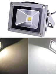 Waterproof 10W 1000LM Cold White Light and Warm White Light LED Flood Lamp (85V-265V)