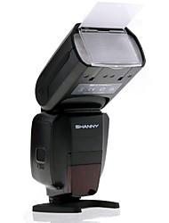 "shanny sn600s 2.2 ""lcd 1 / 8000s de alta velocidad de sincronización E-TTL / i-TTL de flash Speedlite - negro"