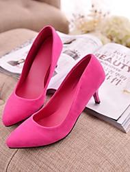 Damenschuhe Spitzschuh Stilettos Wildleder Pumps Schuhe mehr Farben erhältlich