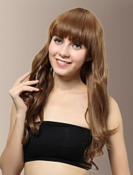 Sweet Natural Long Wavy Synthetic Hair Wigs(More Colors)