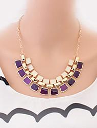Welly Women's Fashion Gem Necklace