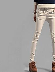 Frauen plus size koreanischen Band Skinny Jeans