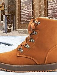 alta qualidade da moda foker cor pura neve botas antiderrapantes das mulheres