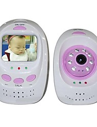 Newest High Quality 2.5 inch TFT Color LCD Wireless Baby Monitor with Night Vision Function  PY-B325