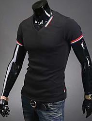 Hisen Men's Casual All Match T-shirt