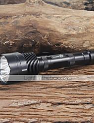Trustfire® Lanternas LED / Lanternas de Mão LED 3800 Lumens 5 Modo Cree XM-L T6 18650.0 Campismo / Escursão / Espeleologismo / Uso Diário