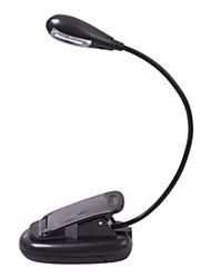 MLSLED® 2-LED Flexible Single Arm Mini Clip Portable Book Light