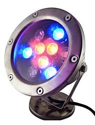 9W 9 LED IP68 étanche à LED rgb en plein air lumière sous-marine (AC12V)