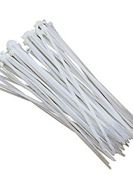 250pcs / lot 5 * 300mm nylon fascette filo zip tie resistente alle alte temperature