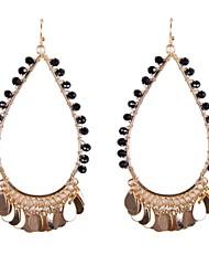 fashion kralen verpakt oorbellen